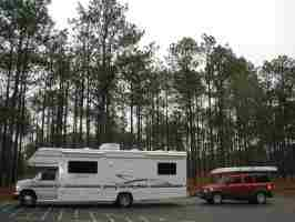 Our RV and Honda Element